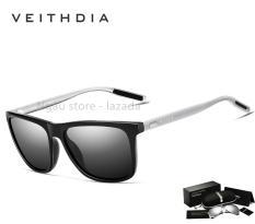 Kính mát nam phân cực thời trang chống tia UV đi râm chống chói VEITHDIA 6108