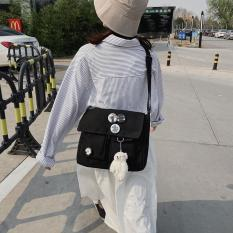 Túi đeo chéo phong cách Harajuku cá tính thời trang dành cho cả nam và nữ Tặng kèm stiker