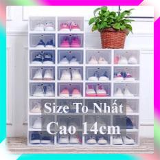 Hộp Đựng Giày (Size To) ⚡FREESHIP⚡ Hộp Đựng Giày Dép Nhựa Cứng, Chịu Lực 4kg