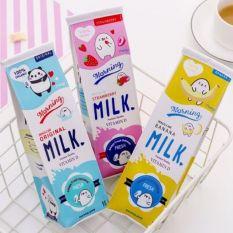 Túi đựng bút hình hộp sữa