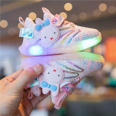 Giày Bé Gái Hello Kitty Dễ Thương Đế Mềm Size 22-26 mã YUN04