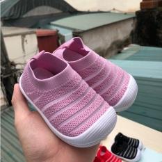 Giày Tập Đi Bún Cho Bé Vải Lưới Thoáng Khí Nhiều Màu