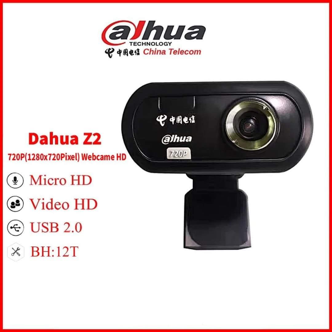 Webcam Máy Tính Dahua Z2 Kết Nối Cổng USB