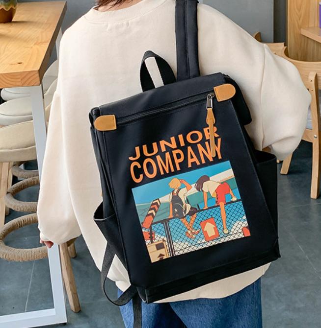 Balo đẹp thời trang nam nữ, kiểu dáng backpack/unisex độc lạ -kèm ngăn chống sốc laptop cho học sinh