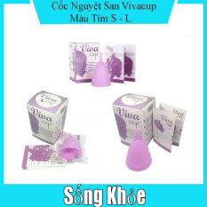 Cốc nguyệt san Vivacup siêu mềm (size S, L)