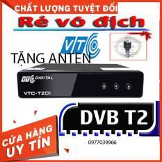 [COMBO] Đầu thu-Đầu thu truyền hình mặt đất- Đầu thu kỹ thuật số DVB vtc t201- Tặng kèm anten- Bảo hành 12 tháng