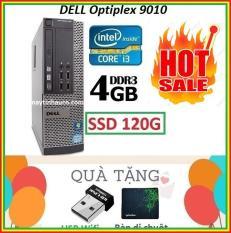 Thùng Dell optiplex 9010 Core i3 3220 / 4G / SSD 120G , Khuyến Mai USB wifi , Bàn di chuột – Bảo hành 02 Năm