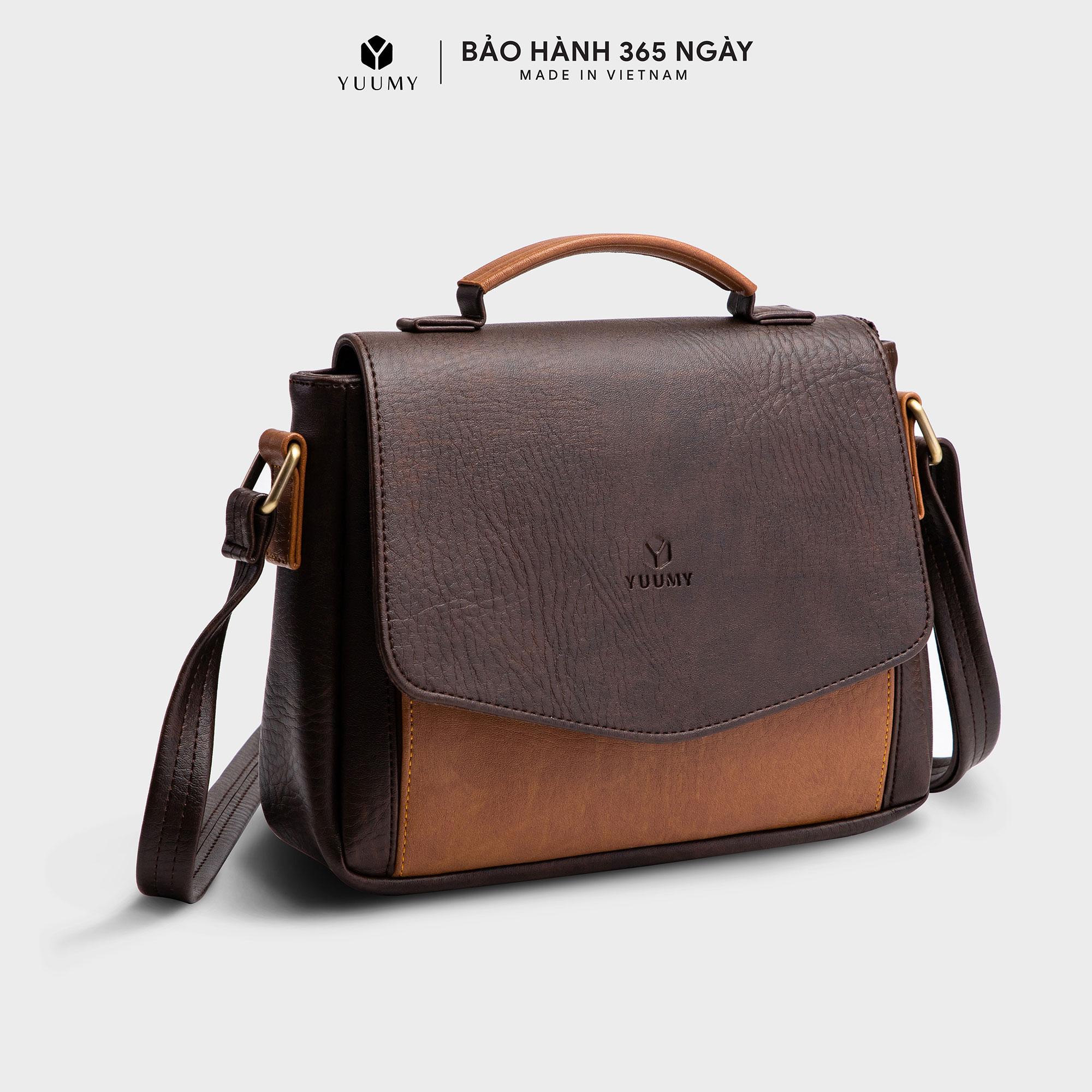Túi đeo chéo thời trang nữ YUUMY YN31 thiết kế tối ưu ngăn đựng giúp nàng thoải mái trong các...