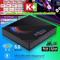Tivi box, android tv box, box tivi android Ram 4G, bộ nhớ 32G, tìm kiếm bằng giọng nói, bluetooth 4.0, băng tần wifi kép, xem phim 4K sắc nét, bảo hành 12 tháng H96MAX