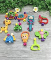 Bộ đồ chơi Xúc Sắc 10 món đa màu sắc cho bé yêu