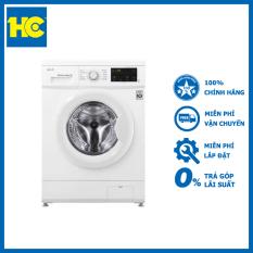 Máy giặt LG Inverter 8 kg FM1208N6W lồng ngang – Miễn phí vận chuyển & lắp đặt – Bảo hành chính hãng