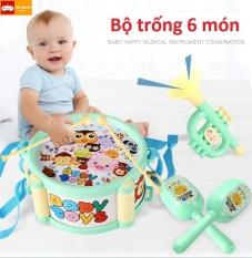 Bộ đồ chơi trống kèn cho bé, đồ chơi trống kèn cho bé,đồ chơi trống cho bé