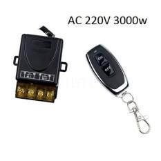 Bộ công tắc điều khiển từ xa rf xuyên tường không dây 100m công suất 30A/220v bật tắt máy bơm nước máy rửa xe công suất lớn