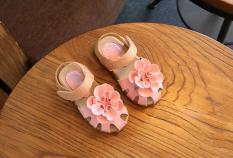 Sandal bé gái có bông hồng RS176 (Hồng)