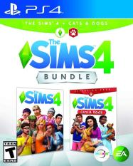 [US-NEW] Đĩa game The Sims 4 Plus Cats & Dogs Bundle – Playstation 4