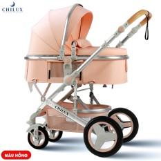 [Giảm 8% đơn 255K] Xe đẩy nôi cho bé Chilux V1.6 – 9 tính năng tiện dụng cho mẹ và bé – có thể gấp gọn