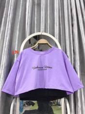 áo phông nữ tay lỡ- áo crt Unknown
