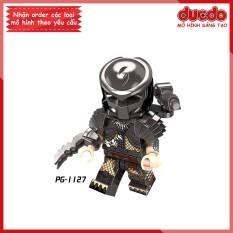 Minifigures quái vật vô hình Predator – Đồ Chơi Lắp Ghép Xếp Hình Mini POGO 1127 Mô hình