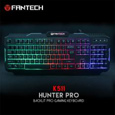 Bàn Phím Gaming Có Dây Fantech K511 HUNTER PRO Rainbow Backlit LED 19 Phím Anti Ghosting – Hãng Phân Phối Chính Thức