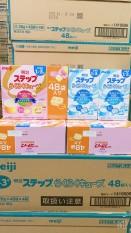 Sữa Meiji Thanh 1 – 3 mẫu mới nội địa Nhật Date 04..2022