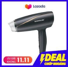 Máy sấy tóc SUNHOUSE SHD2306 công suất cực lớn 1200W, tự động ngắt khi quá tải, có thể gấp gọn.