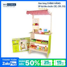 Đồ chơi siêu thị BBT Global bếp gỗ cao cấp MSN15033 – đồ chơi gỗ, do choi tre em, đồ chơi phát triển kỹ năng