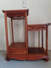 bàn-nhị sơn gỗ hương kích thước cao 70cmx68cmx30cm