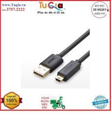 Cáp USB 2.0 to mini USB 0.5M Ugreen 10354-Hàng Chính Hãng