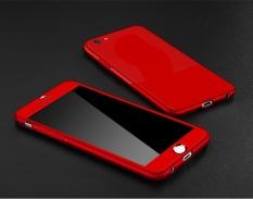 Ốp lưng Iphone 5/5s, 6/6s, 6/6s Plus 7/8, 7/8 Plus, X/Xs chống sốc 2 mặt (có kính cường lực)