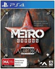 Đĩa game Metro Exodus Steelbook Edition PS4