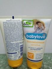 Kem chống nắng cho trẻ em Babylove (Đức)