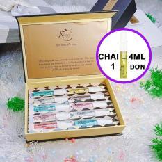 Nước hoa Nam Nữ chai Mini thương hiệu XBeauty XPo3. Nước hoa cô đặc dành cho Nam và Nữ, Nước hoa Mini thơm lâu có 10 mùi hương cho bạn lựa chọn. Lưu Ý Một Mùi Là Một Chai 4ML. Mua 10 mùi sẽ được gói trong hộp vàng như ảnh bìa.