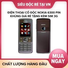 Điện thoại cổ độc Nokia 6300 pin khủng giá rẻ tặng kèm sim 3g