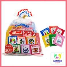 Gia Vị Rắc Cơm Nhật Bản 6 Vị 30 Gói 75Gr Cho Bé Ăn Dặm Bán Lẻ 6 Gói Nhỏ