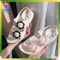 giày sandal nữ đi học cấp 3 rẻ, sandal nữ đi học quai nhựa CAO CẤP- DOZIMAX
