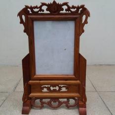 khung ảnh gỗ hương kích thước ảnh 18cmx24cm
