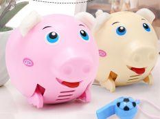 Đồ chơi lợn di chuyển bằng âm thanh biết hát và phát sáng