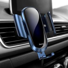 Giá đỡ điện thoại Baseus chất liệu kim loại sang trọng cho điện thoại màn hình từ 4.7 đến 6.5 Inch sử dụng trên ô tô