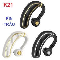 Tai nghe bluetooth K21 pin lớn 300mAh – Tai nghe móc tai cao cấp