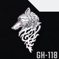 Ghim cài áo Vest Nam thời trang cao cấp hình đầu sói GH-118 {Ghim cài áo Vest Nam – ADAMZONE}