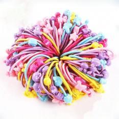 Set 50 dây chun buộc tóc cho bé (Nhiều màu)