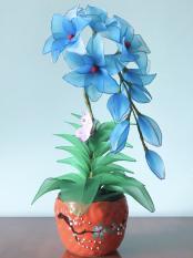 Hoa vải voan Handmade (Mẩu 2)