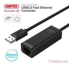 USB TO LAN 2.0 UNITEK Y1468