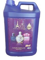[HCM](Mới) Can Nước Giặt Xả Paris – Hương hoa Pháp 5000ml (5 lít)- Màu Tím
