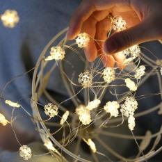 [Tặng Pin] Dây đèn led 30 bóng dài 3m hình Hoa Tuyết trang trí giáng sinh noel phòng ngủ GIVASOLAR-ML3