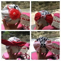 [HÌNH THẬT] Mũ nón turban cho bé vải cotton xinh yêu – 2 size 0-12 tháng
