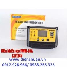 Điều khiển sạc năng lượng mặt trời PWM 10A 12V/24V – ST-S1210
