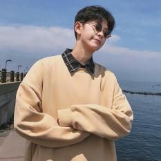 Áo khoác sweater nam 1 tông màu đơn giản giữ nhiệt tốt ST82