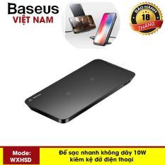Đế sạc nhanh không dây Baseus công xuất 10W thông minh kiêm giá đỡ đa năng chuẩn Qi cho iphone X , XSMax , iphone 8, Note8, Note9, Note10 – Phân phối bởi Baseus Vietnam