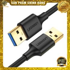Cáp USB 2 đầu đực Ugreen US128 chuẩn USB 3.0 tốc độ cao chính hãng – Hapustore